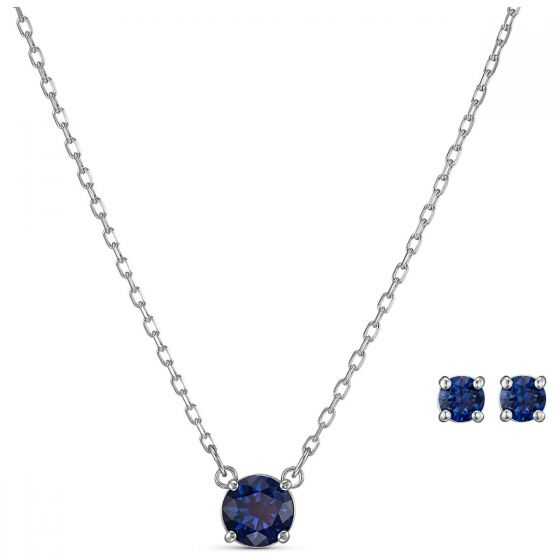 Swarovski Anniversary Attract Round Set - Blue - 5536554