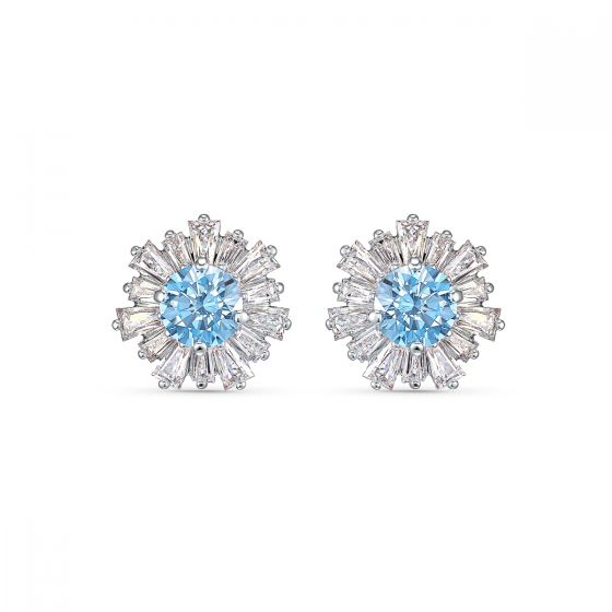 Swarovski Anniversary Sunshine Earrings 2020 - Blue - 5536741