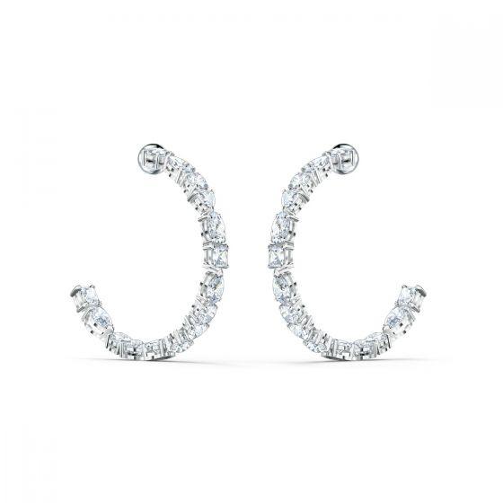 Swarovski Tennis Deluxe Hoop Earrings 5562128