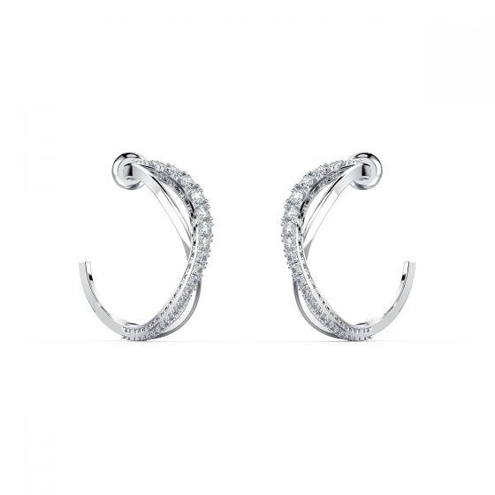 Swarovski Twist Hoop Pierced Earrings 5563908