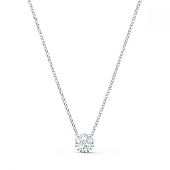Swarovski Angelic Round Pendant Necklace 5567931