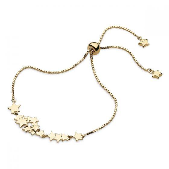 Kit Heath Stargazer Galaxy Gold Toggle Bracelet
