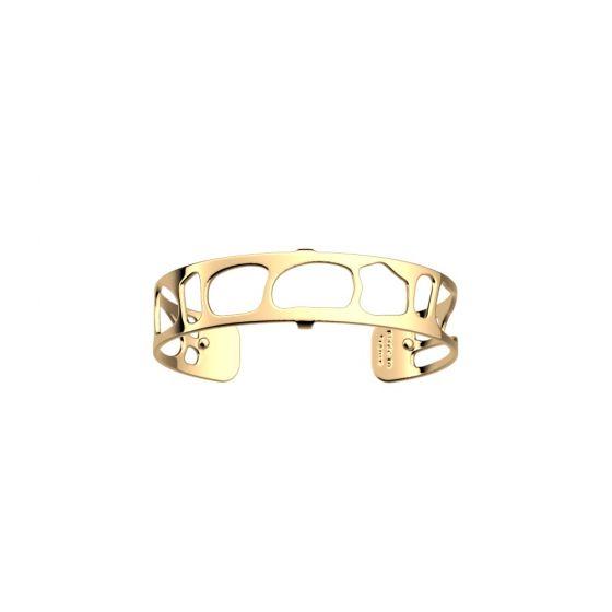 Les Georgettes Leopard Bracelet - 14mm Gold Finish 703546630100000