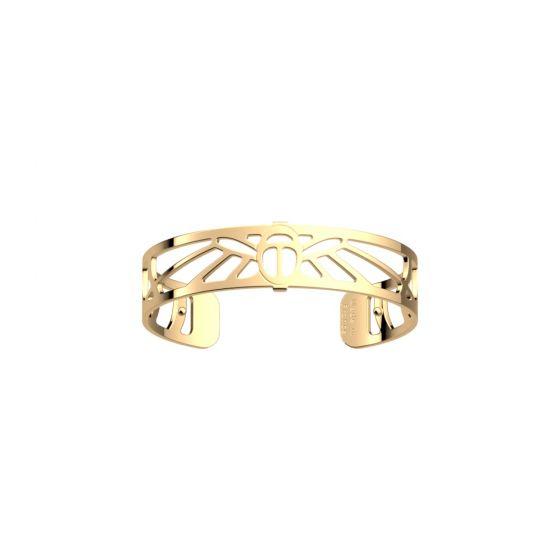 Les Georgettes Scarabee Bracelet - 14mm Gold Finish 703556230100000