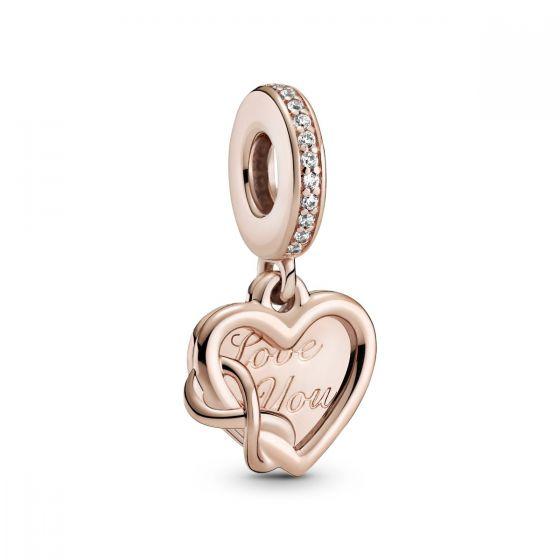 Pandora Love You Infinity Heart Dangle Charm 789369C01