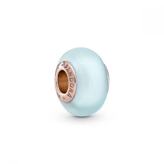 Pandora Matte Blue Murano Glass Charm 789420C00