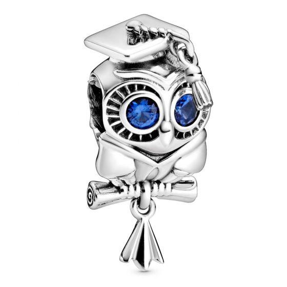 Pandora Wise Owl Graduation Charm 798907C01