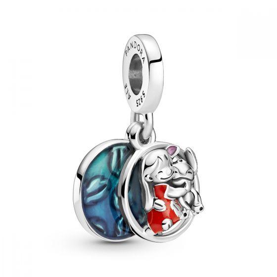 Pandora Disney Lilo and Stitch Family Dangle Charm 799383C01