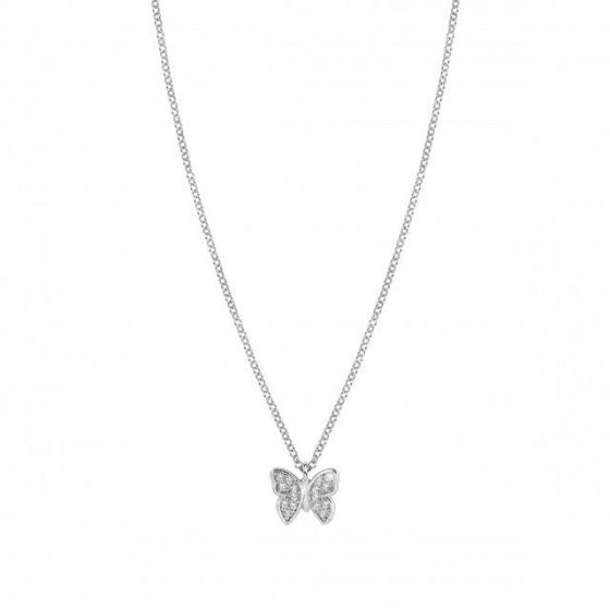 Nomination GIOIE Necklace in sterling silver and cubic zirconia Butterfly