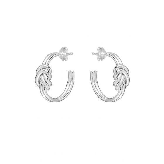 Annie Haak Lover's Knot Silver Earrings