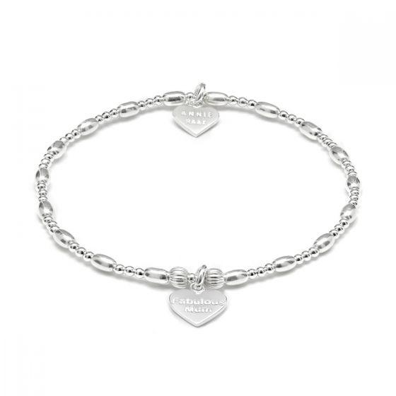 Annie Haak Motherhood Silver Charm Bracelet – Fabulous Mum B2009-17 B2009-19