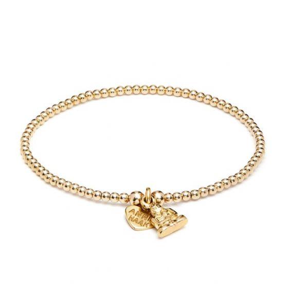 Annie Haak Santeenie Gold Buddha Bracelet B0326-17 , B0326-19