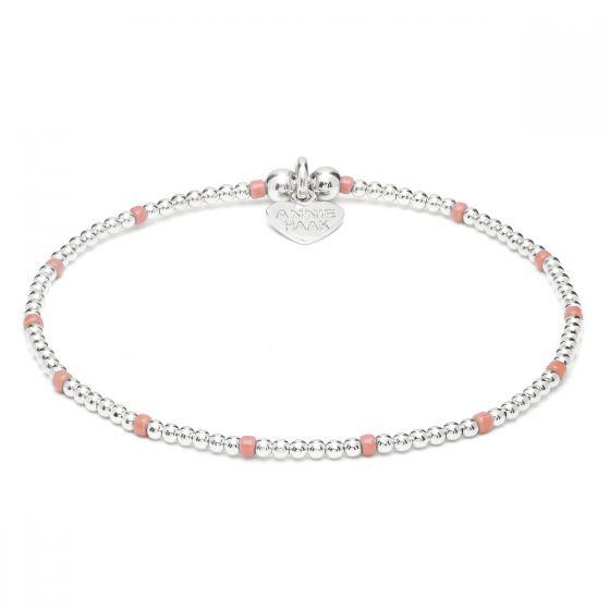 Annie Haak Serasi Pink Silver Bracelet B2008-17 B2008-19