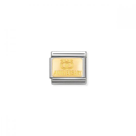 Nomination Classic Anniversary Charm - 18k Gold - 030121/32