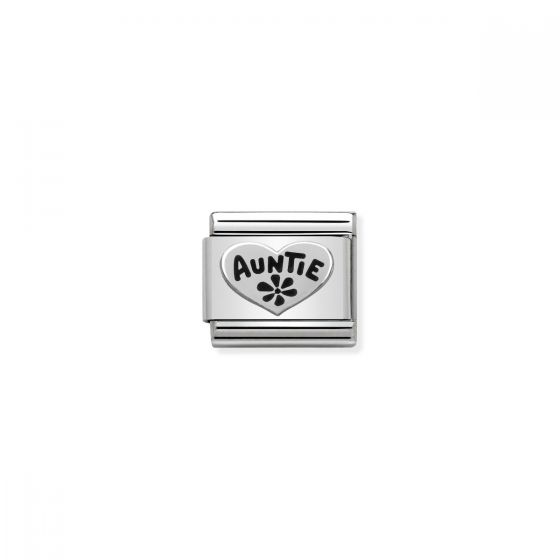 Nomination Classic Auntie Charm - Silver - 330101/17