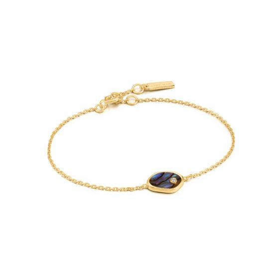 Ania Haie Tidal Abalone Bracelet