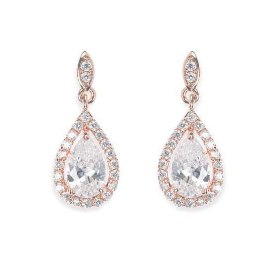 Ivory & Co Belmont Rose Earrings