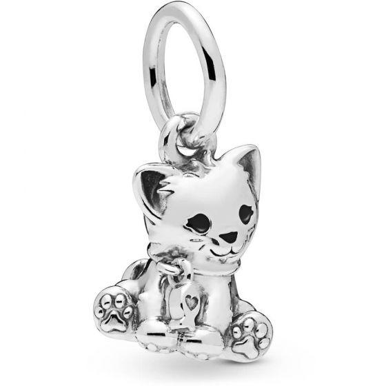 Pandora Kitty-Cat Dangle Charm - 798011EN16