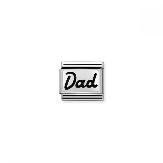 Nomination Classic Dad Charm - Silver - 330102/33