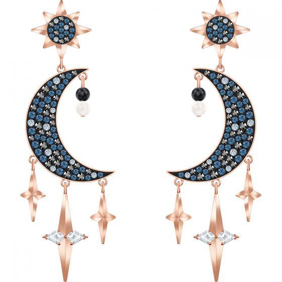 Swarovski Symbolic Pierced Earrings, Multi-Coloured, Mixed Metal Plating 5489536
