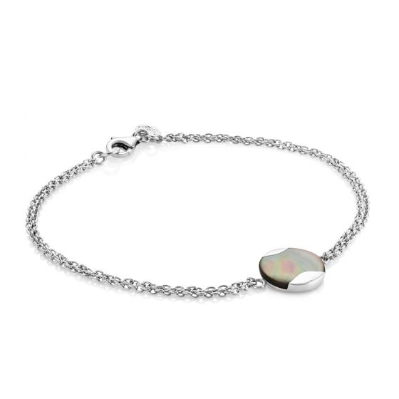 Jersey Pearl Dune Mother of Pearl Grey Bracelet DUB-TH