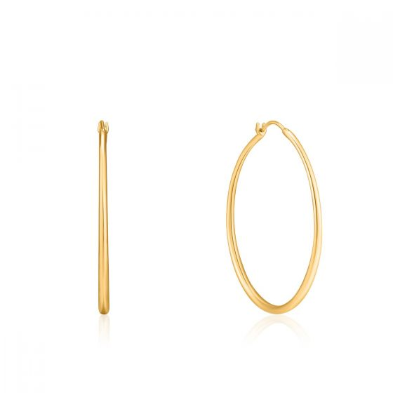 Ania Haie Gold Luxe Hoop Earrings E024-04G