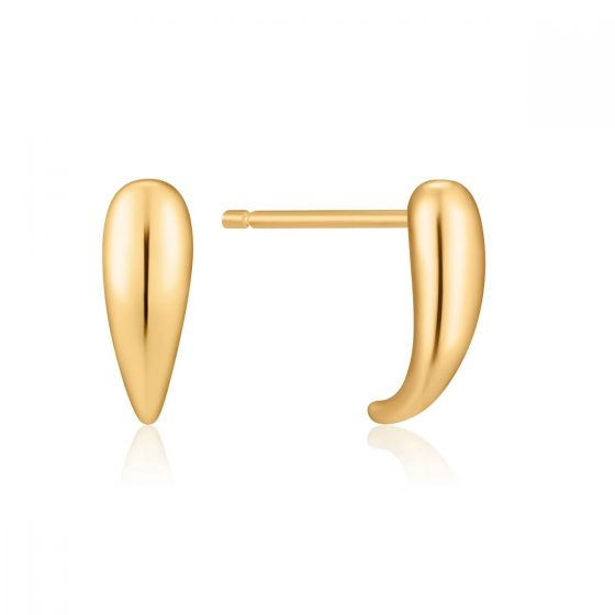 Ania Haie Gold Luxe Stud Earrings