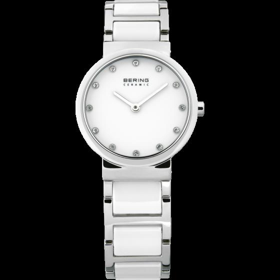Bering Ladies White Ceramic Watch