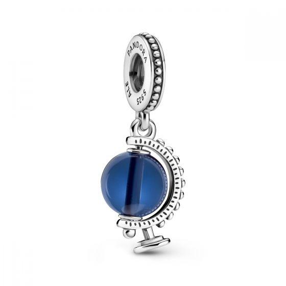 Pandora Blue Globe Dangle Charm 799430C01