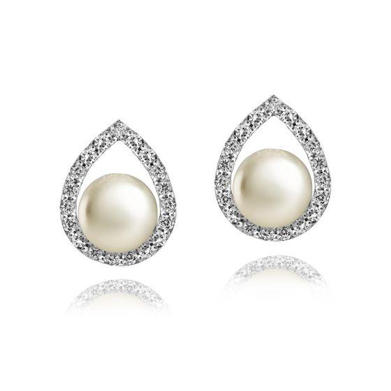 Jersey Pearl Amberley Cradle Earrings 1834581