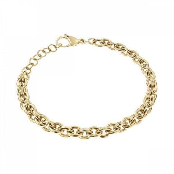 Calvin Klein Gold Tone Statement Bracelet KJALJB100300