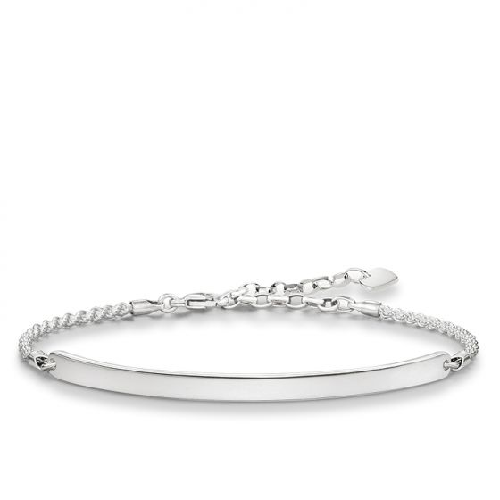 Thomas Sabo Twist Silver Love Bridge Bracelet