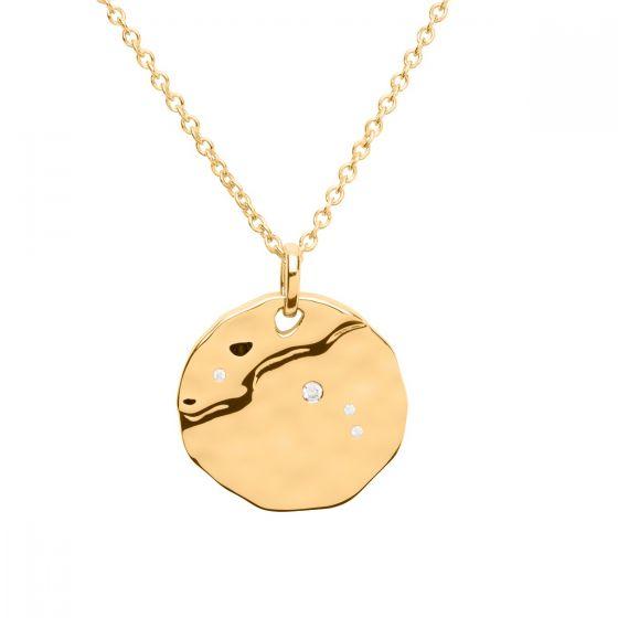 Unique & Co Zodiac Constellation Pendant - Aries in Gold MK-618GO