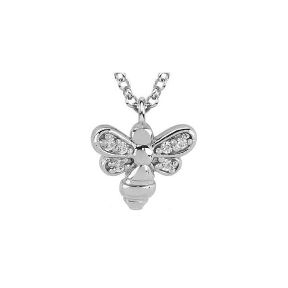 Nomination GIOIE Necklace in sterling silver and cubic zirconia Bee