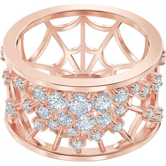 Swarovski Precisely Motif Ring, White, Rose Gold Plating 5511397, 5511395, 5496490, 5511396, 5511398