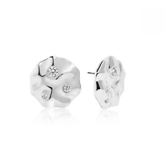 Sif Jakobs Earrings Acerra, silver with white zirconia SJ-E0020-CZ