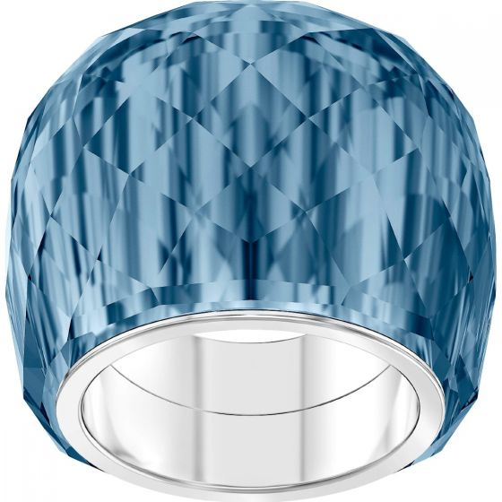 Swarovski Nirvana Ring, Blue, Stainless Steel 5474371, 5432195, 5474372, 5474373