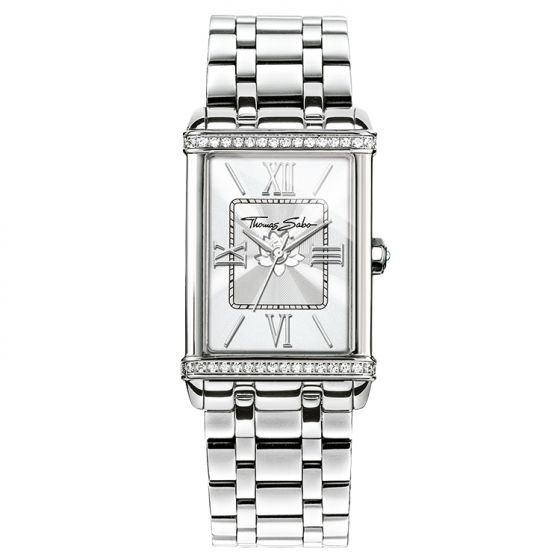 Thomas Sabo Women's Century Classic Watch, Silver WA0231-201-201