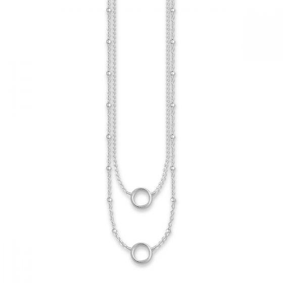 Thomas Sabo Charm Club Double Charm Necklace