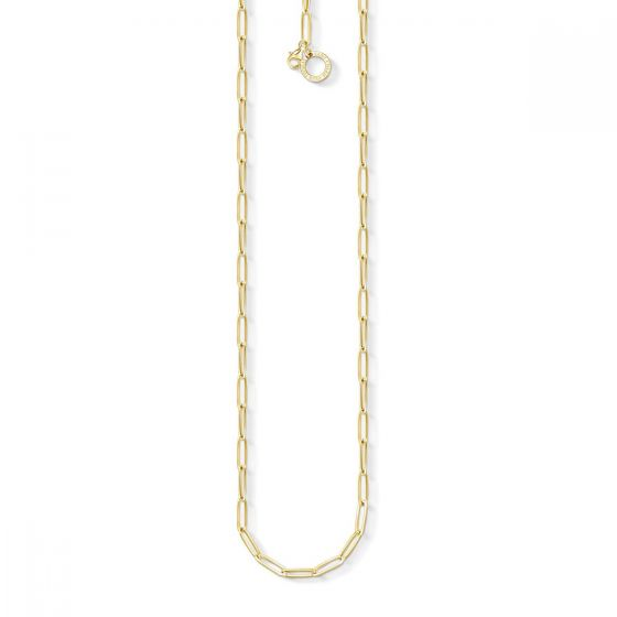 Thomas Sabo Charm Necklace, Gold, 70cm