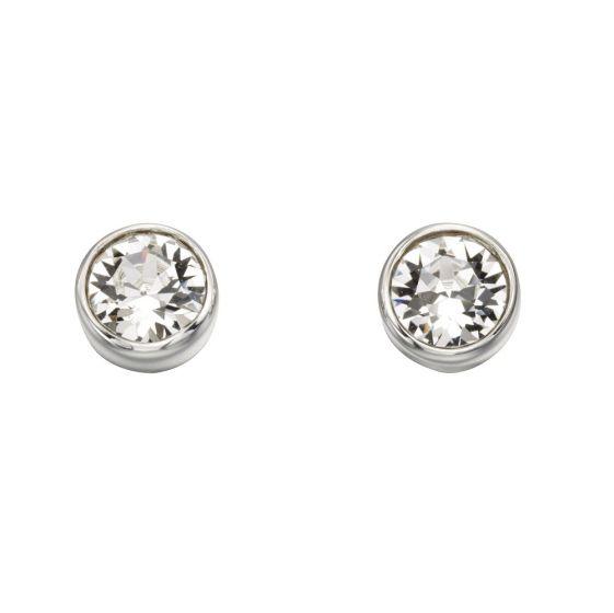 Beginnings April Birthstone Earrings
