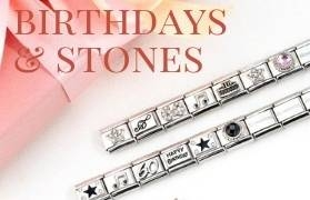 Birthstone and Zodiac Nomination Charms