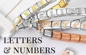 Number and Letter Nomination Charms