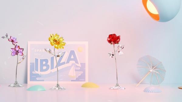 New Swarovski crystal decorations