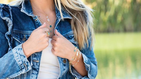 Gemstone jewellery - discover new looks