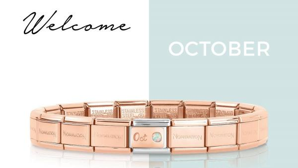 October Birthstone Gifts in Opal and Rose