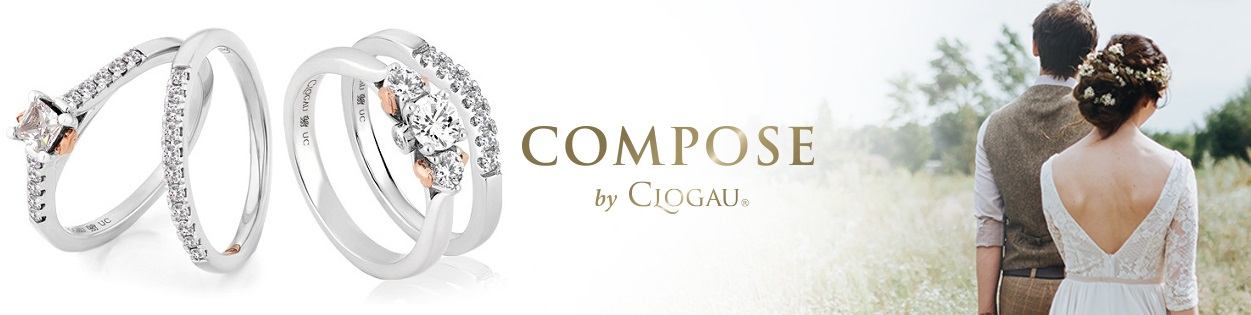 Clogau Compose Engagement and Wedding Rings