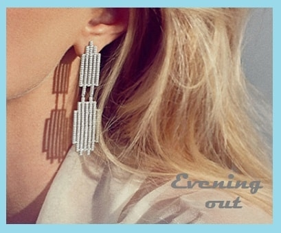 Evening out jewellery style