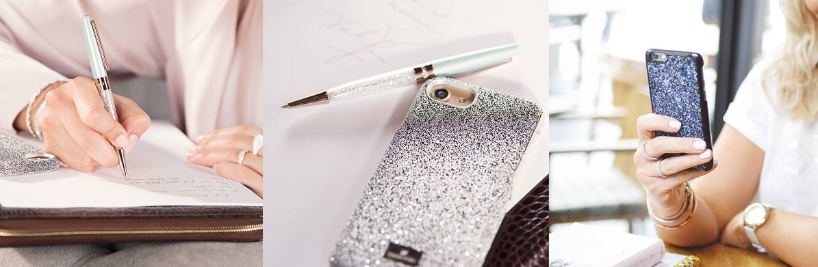 Swarovski Pens and Phone Cases