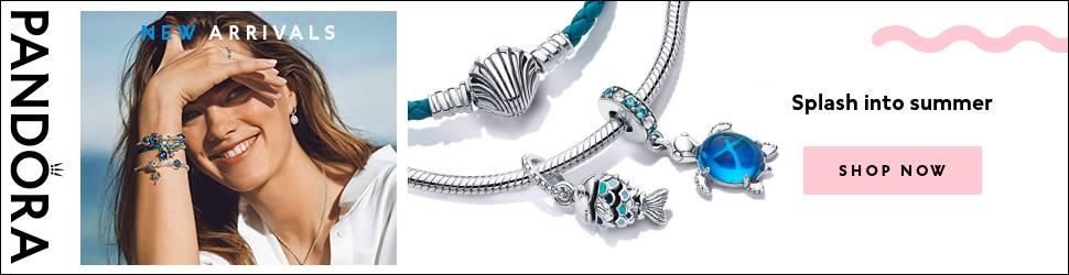 Pandora charms and jewellery